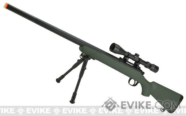 Matrix VSR-10 MB03 Bolt Action Airsoft Sniper Rifle by WELL (Color: OD Green - Package C)