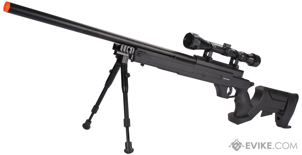 WELL MB04 APS Bolt Action Airsoft Sniper Rifle - ~490 FPS (Package: Rifle Only)