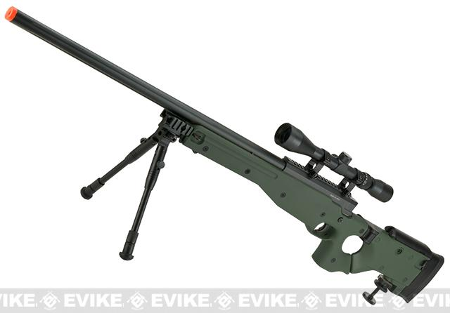 Matrix AW-338 MB08D Bolt Action Airsoft Sniper Rifle with Folding Stock by WELL (Color: OD Green - Package C)