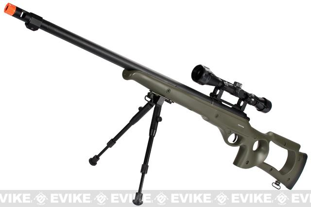 Bone Yard - Matrix Custom VSR10 MB10 Airsoft Bolt Action Sniper Rifle (Store Display, Non-Working Or Refurbished Models)