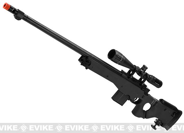 WELL L96 Bolt Action Airsoft Sniper Rifle w/ Folding Stock (Color: Black)