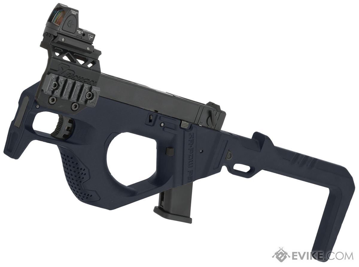 SRU 3D Printed PDW Gas Blowback Pistol Carbine (Color: Blue)