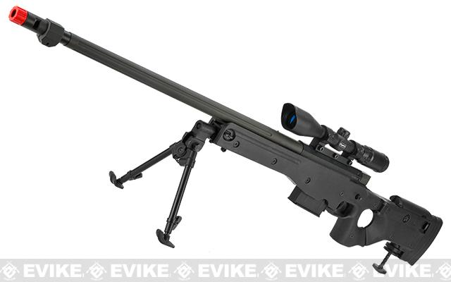 AW338 Airsoft Bolt Action Heavy Weight Sniper Rifle by UFC (Configuration: Black / Standard)