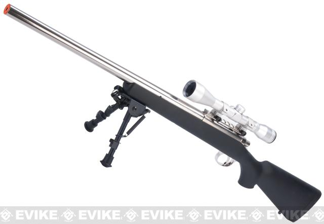 Tokyo Marui Pro Hunter Stainless Steel VSR-10 Airsoft Sniper Rifle (Color: Black)