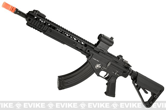 BOLT Knights Armament Official Licensed SR-47 12.5 URX 3.1 B.R.S.S. Full Metal EBB Airsoft AEG Rifle - Black