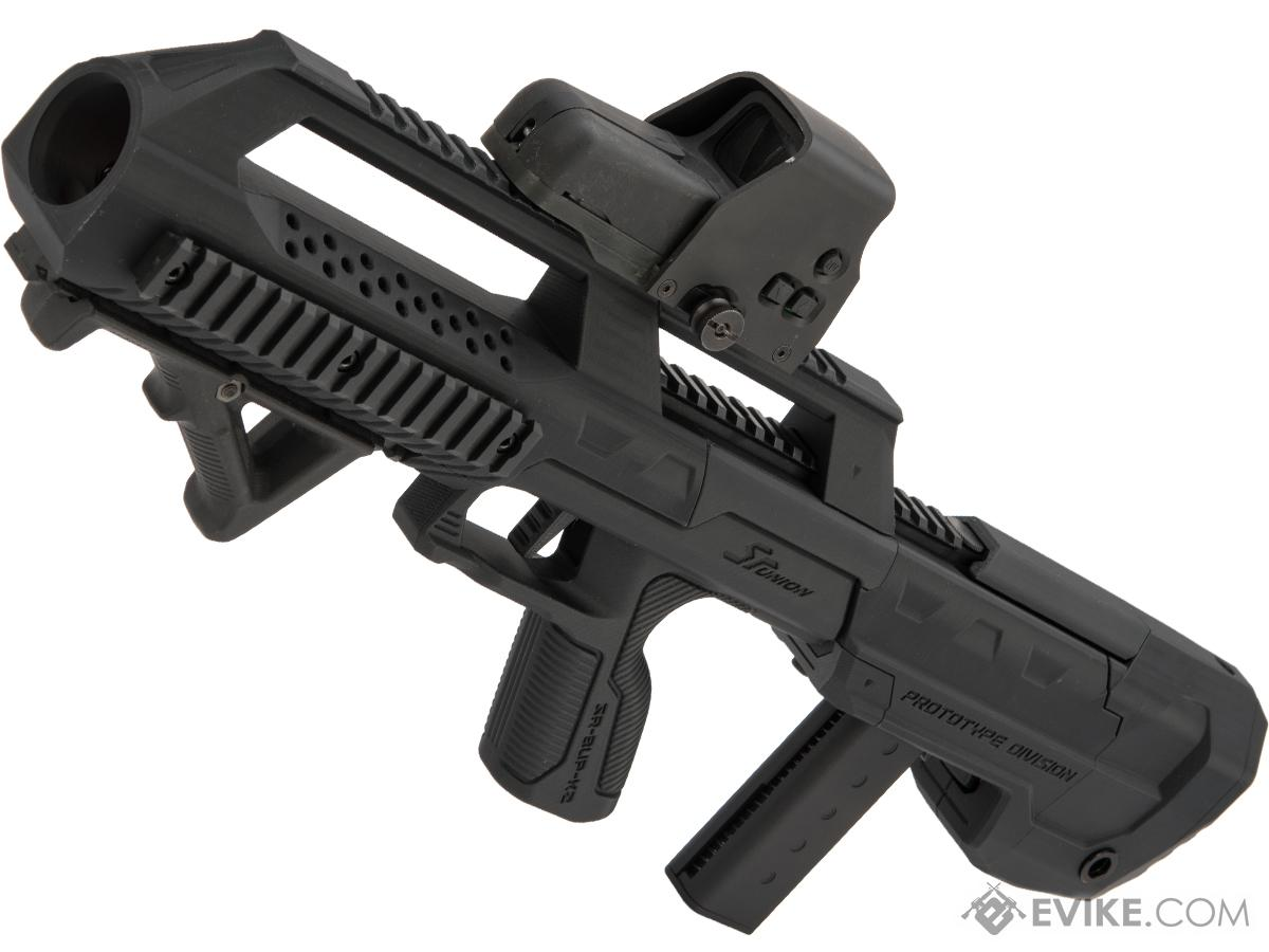 SRU 3D Printed Bullpup Conversion Kit for KJW KC-02 Gas Blowback Rifle (Color: Black)