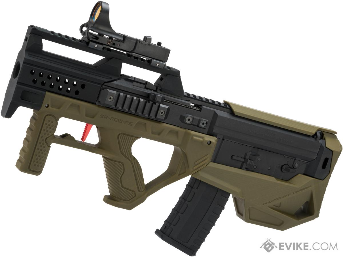 Evike.com Custom GHK G5 Gas Blowback Airsoft Rifle with SRU G5 Bullpup Conversion Kit