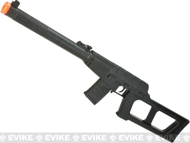S&T Full Metal VSS Full Size Airsoft AEG Rifle (Color: Black)