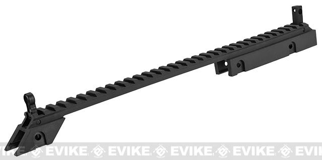 UFC G36 Extendable Folding Stock and Upper Sight Rail Set (Color: Black)