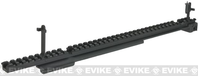 6mmProShop Metal Flat Top Rail System for Tavor TAR-21 Airsoft AEG Rifles - Black