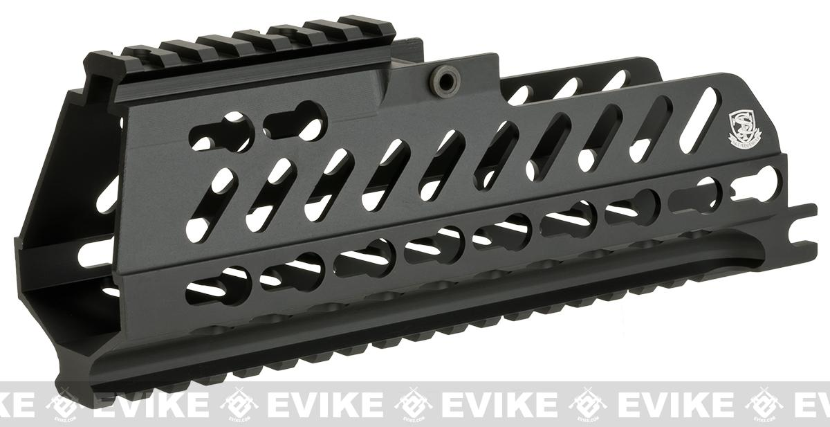 UFC CNC Machined Aluminum Keymod Railed Handguard for S&T / UMAREX G36C Airsoft AEG Rifles