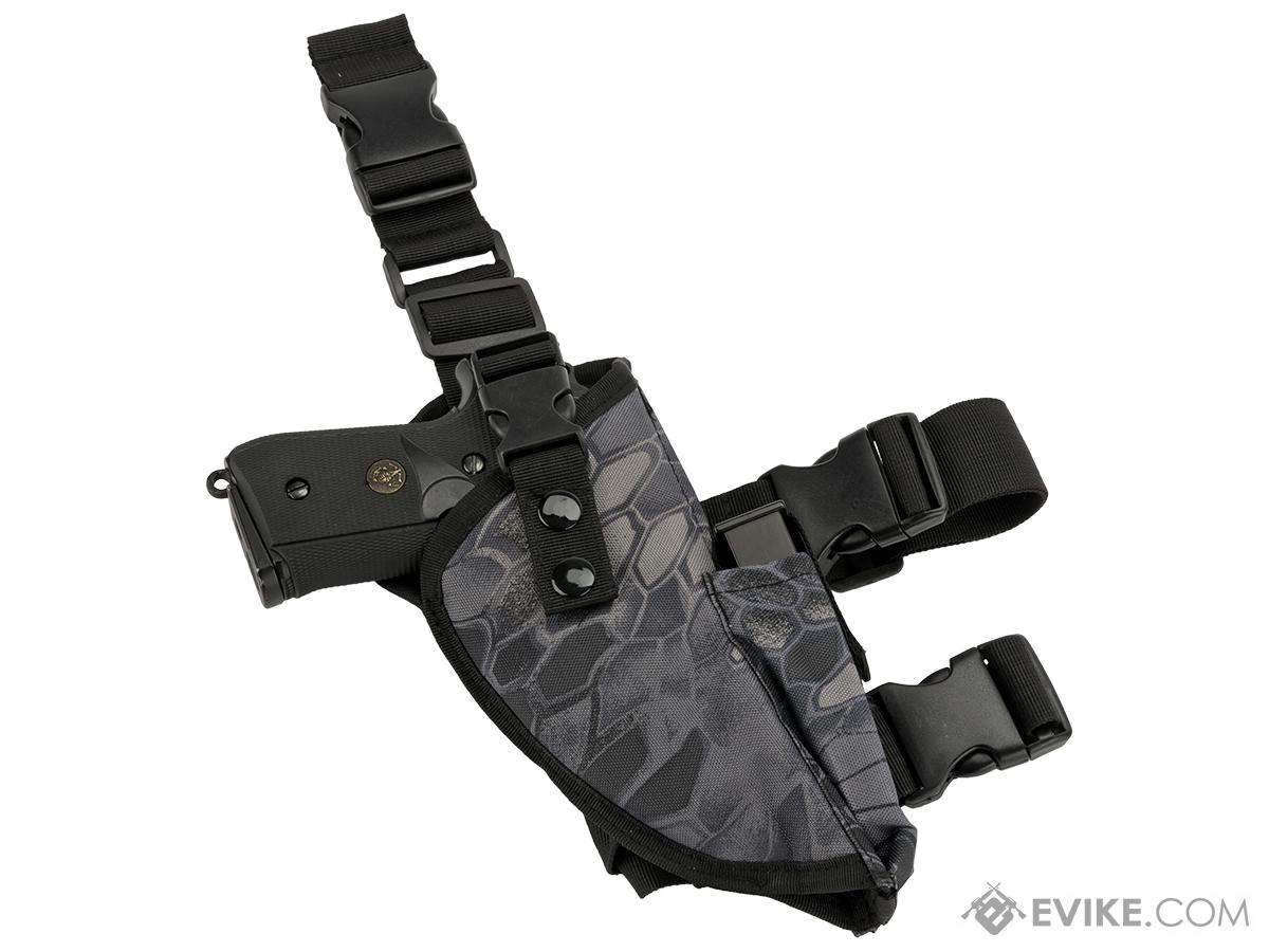 Matrix Deluxe Tactical Thigh Holster (Color: Urban Serpent / Right)