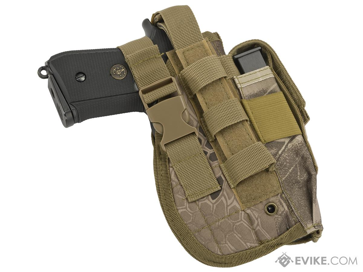 Matrix ST24-2 MOLLE Holster for Airsoft Pistols (Color: Desert Serpent)
