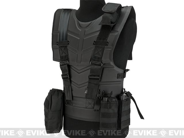 Matrix ST90 Defender Low Profile Body Armor - Black