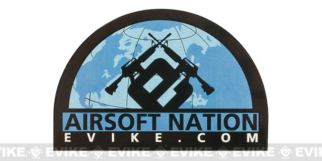 Evike.com 3 Airsoft Nation Die Cut Vinyl Sticker