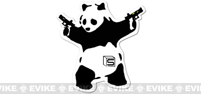 Salient Arms International Akimbo Panda  3 Die Cut Sticker