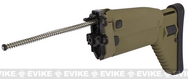 G&G Replacement Folding Stock for SCAR Series Airsoft AEG Rifles - Tan