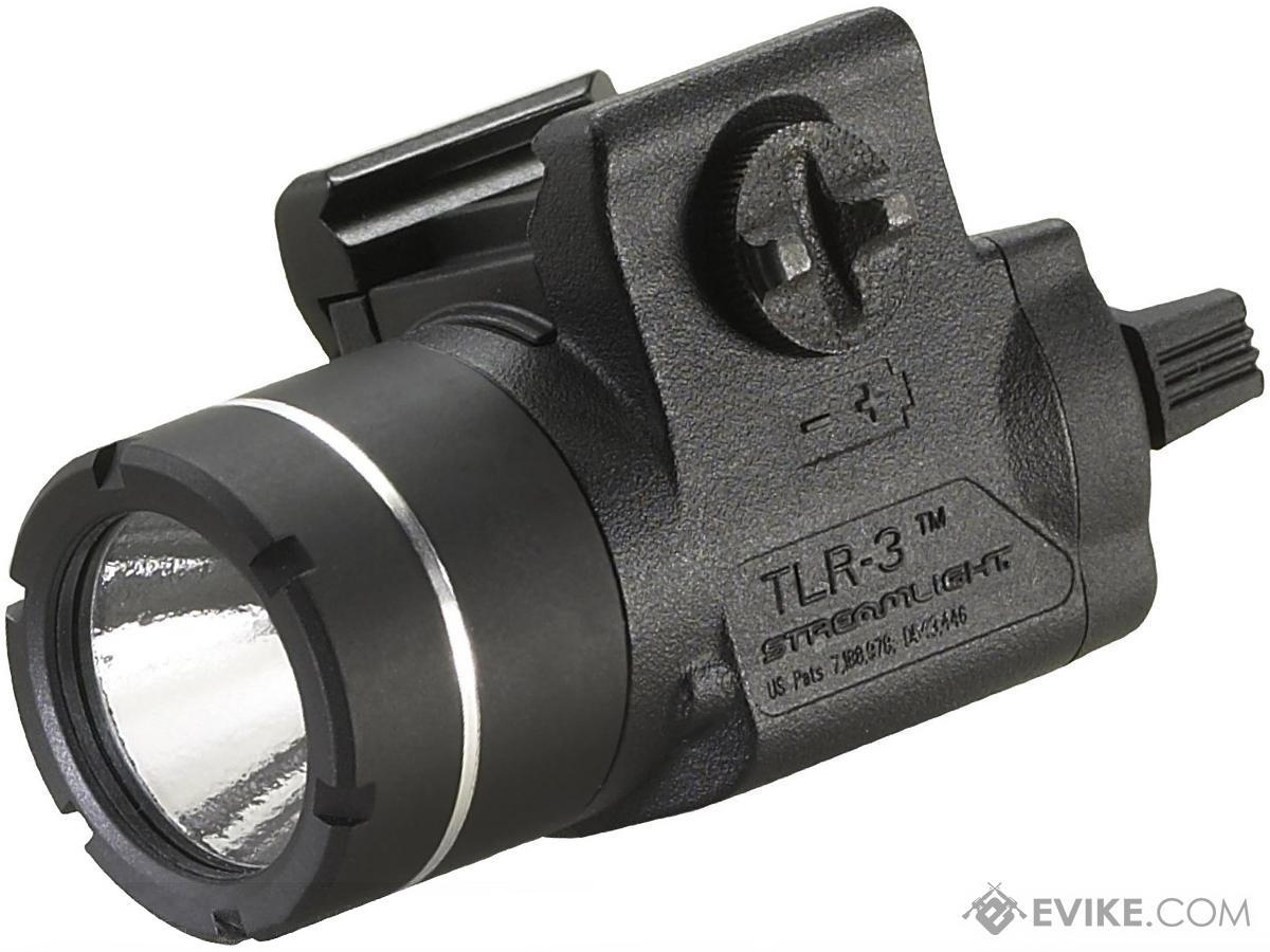 Streamlight TLR-3 125 Lumen C4 LED Rail Mounted Weapon Light - Black