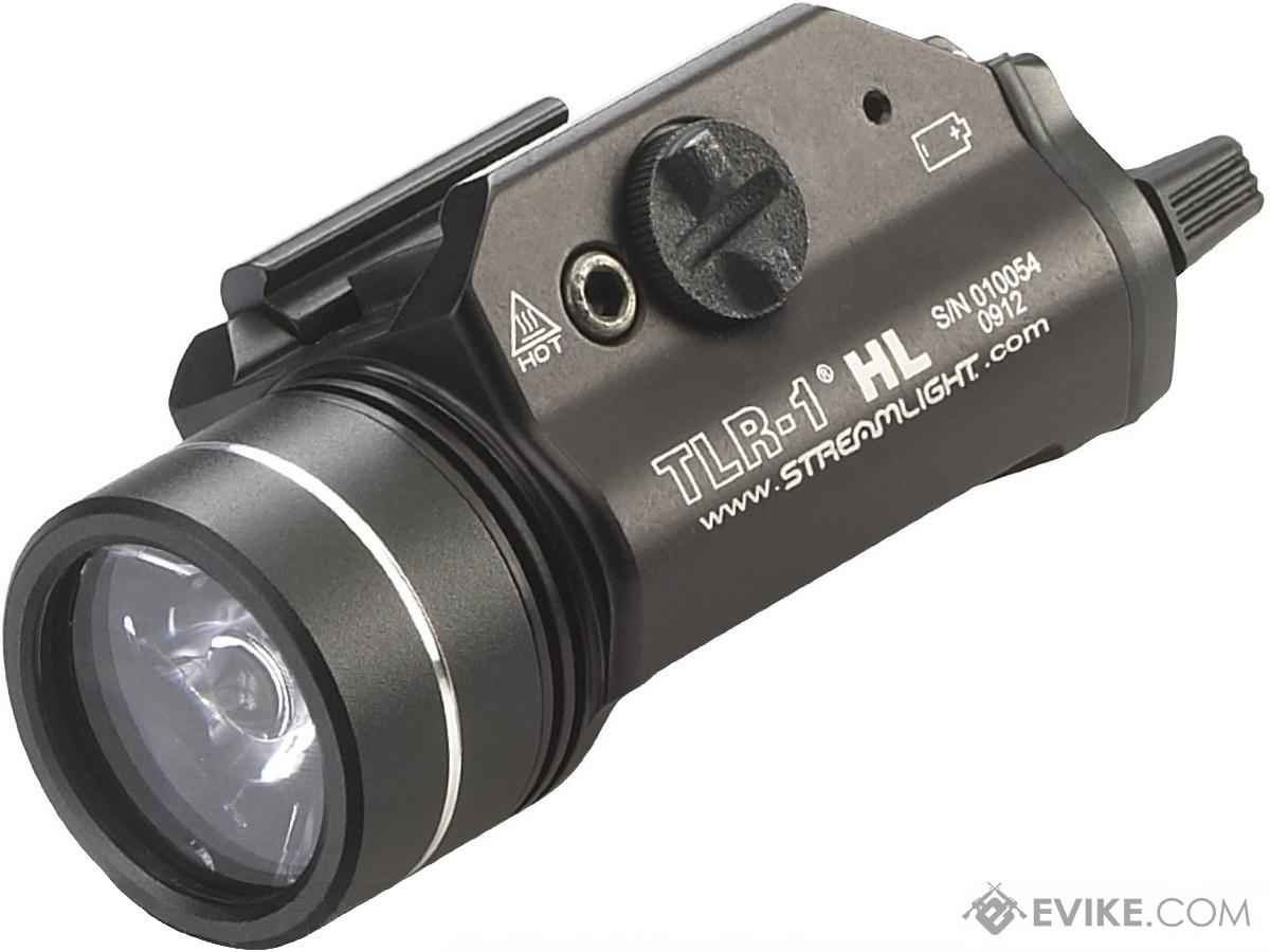 Streamlight TLR-1-HL 800 Lumen C4 LED Rail Mounted Weapon Light (Color: Black)