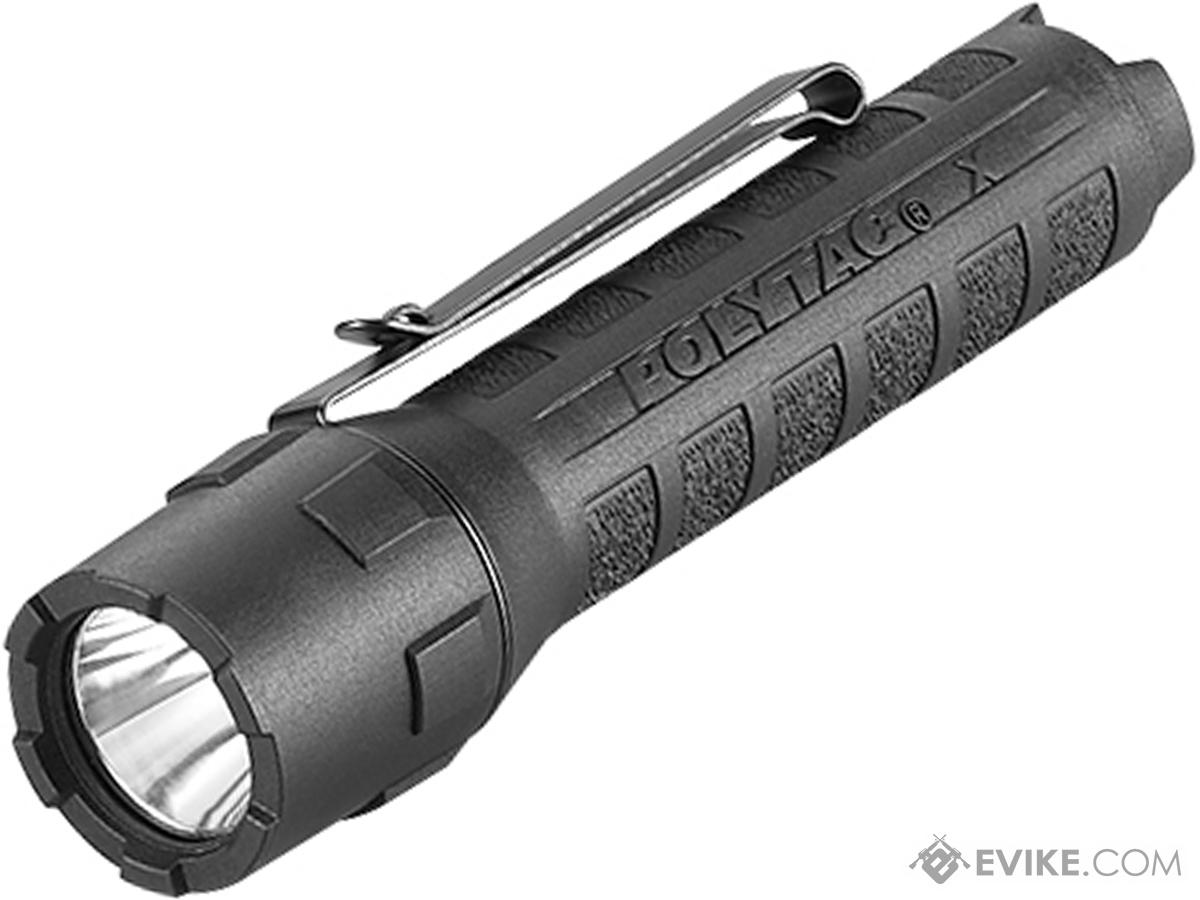 Streamlight PolyTac X USB 600 Lumen Flashlight w/ Rechargeable 18650 Lithium Ion Battery (Color: Black)