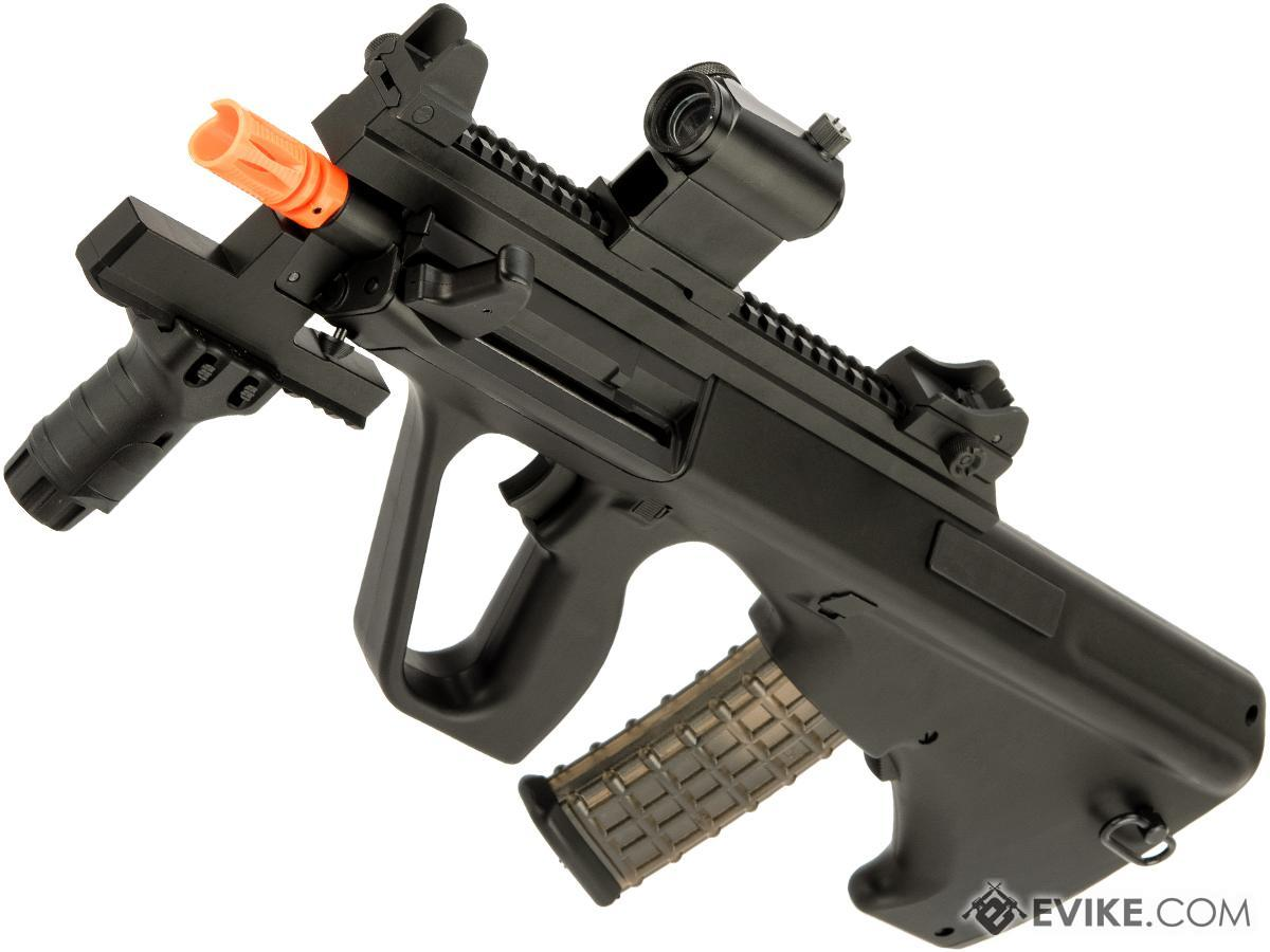 Snow Wolf AUG A3 Improved Bullpup Airsoft AEG Rifle (Color: Black / CQB Tactical)