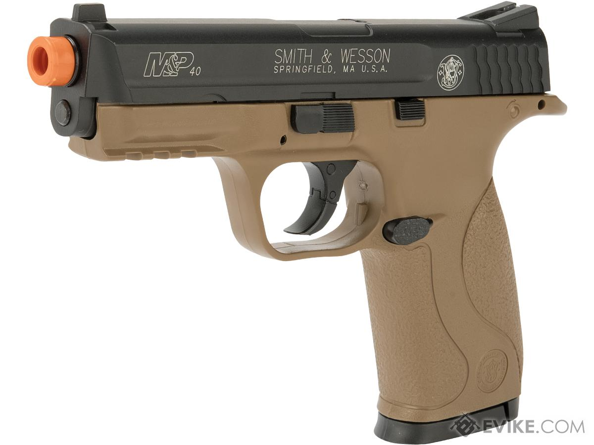 Softair Licensed CO2 Smith & Wesson M&P40 Airsoft Non Blowback (Color: Dark Earth)