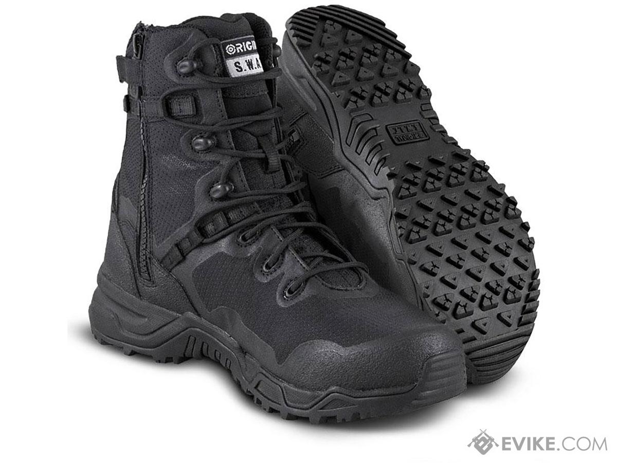 Original Swat Alpha Fury 8 Side Zip Boots (Size: 8)