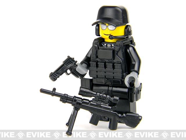 Battle Brick Customs Military Mini-Figure - SWAT Police Sniper