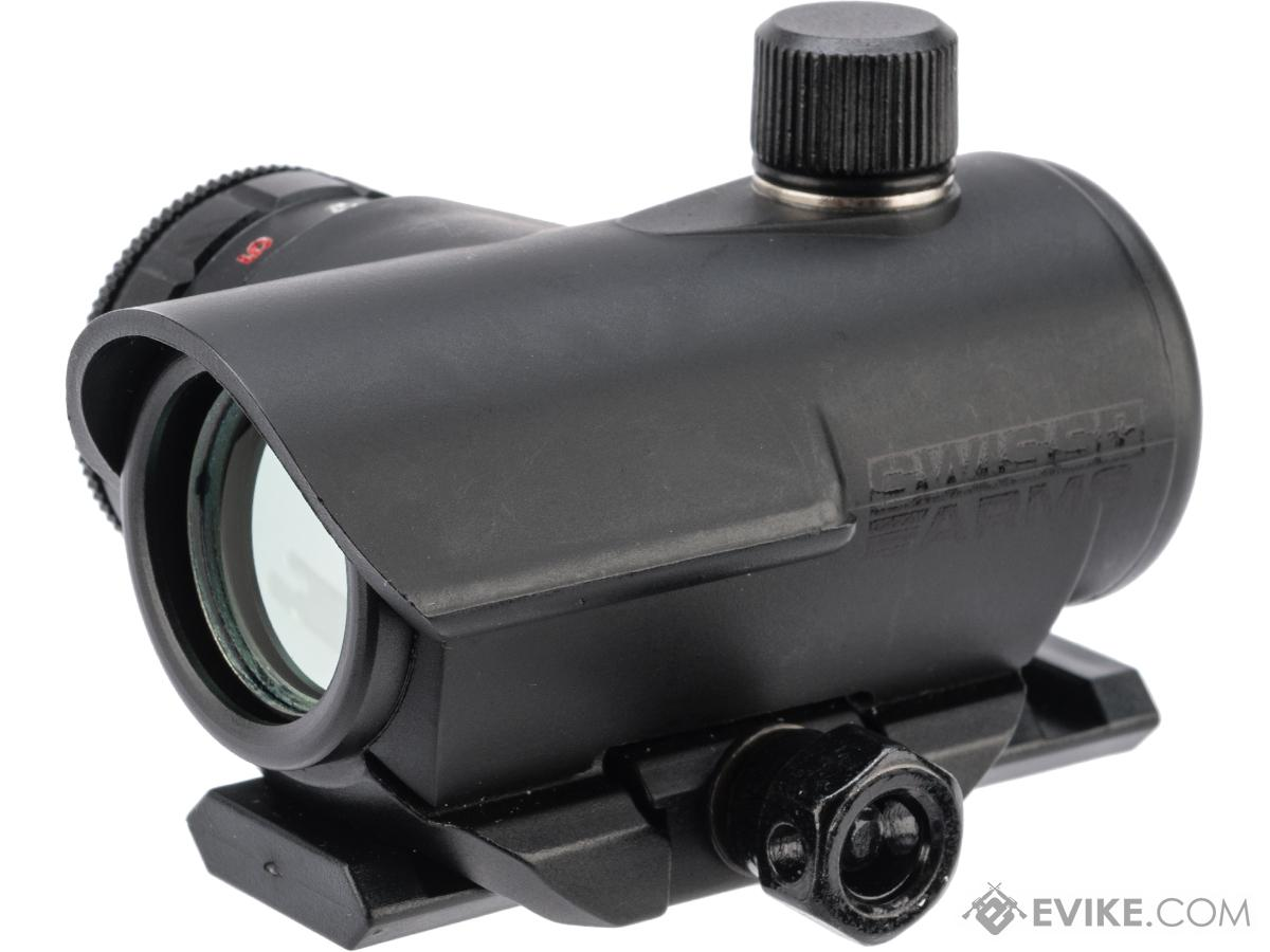 Swiss Arms 1x20 Compact Red & Green Dot Sight for Rifle and SMG