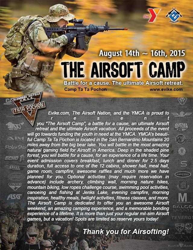 z The Airsoft Camp 2015 - The Ultimate Airsoft Retreat - Desert Force (August 14th-16th, 2015)