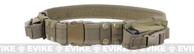 Condor Tactical Pistol Belt - Tan
