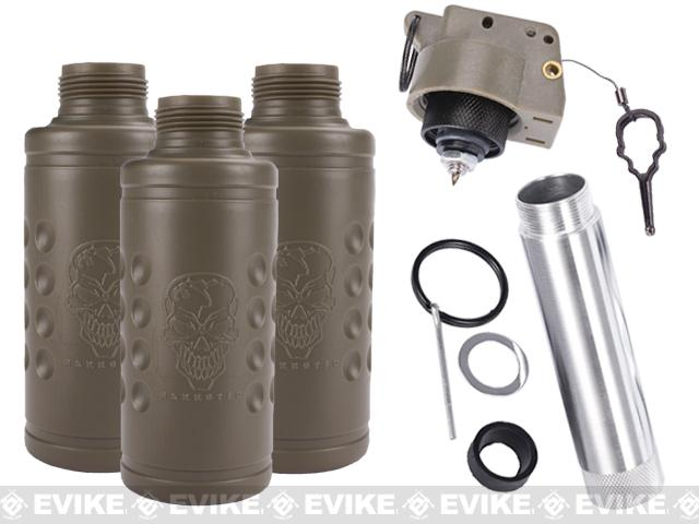Thunder B Airsoft Co2 Simulation Grenade (Package: 3 Shell Set / TripWire)