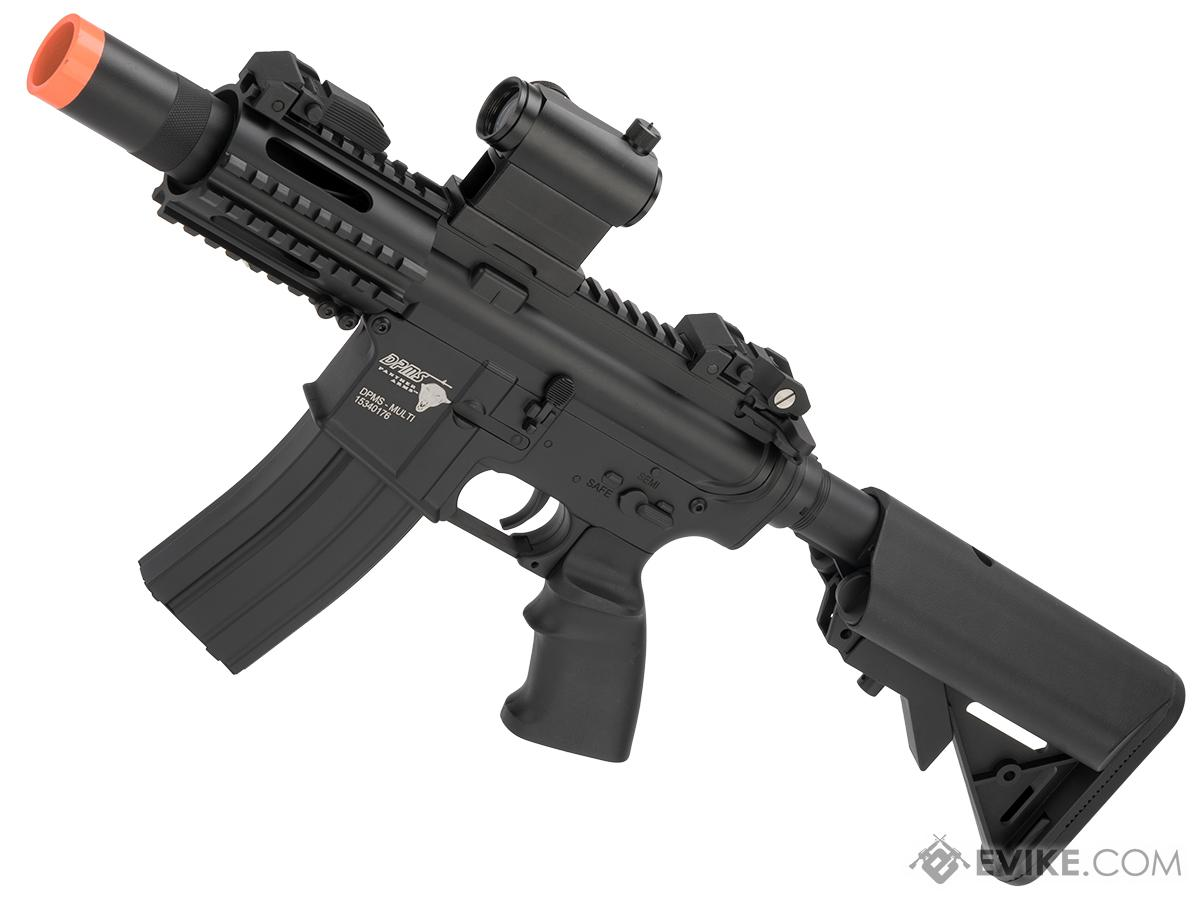 DPMS Panther Arms Licensed Full Metal M4 CQB-3 Airsoft AEG Rifle by A&K