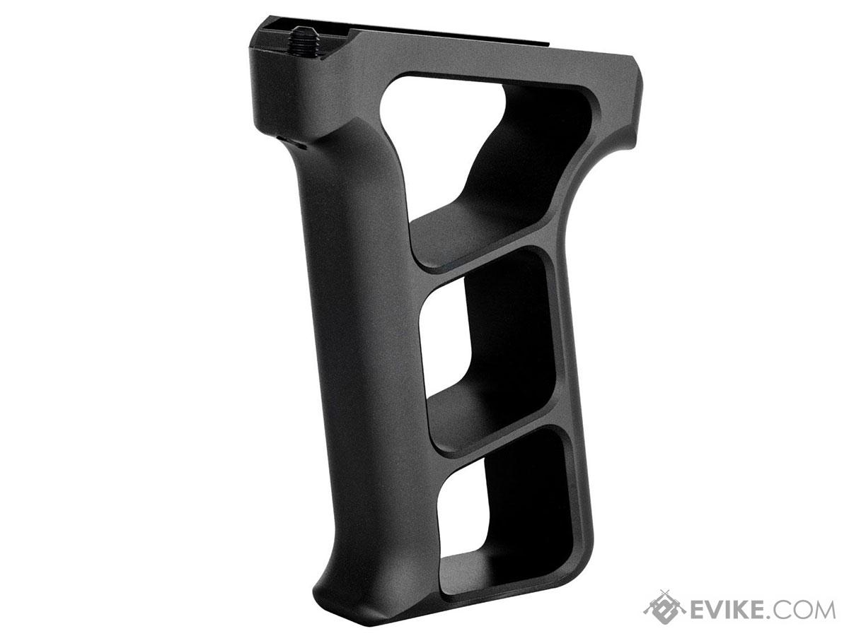 Tactical Dynamics CNC Aluminum Skeletonized Vertical Foregrip (Type: M-LOK / Black)