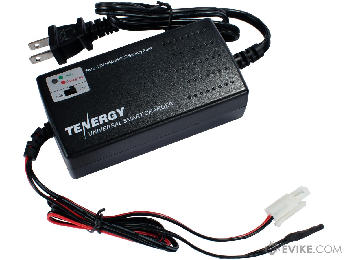 Airsoft Smart Charger for 7.2V-12V NiMh & NiCd Battery Packs by Tenergy - Advanced Type