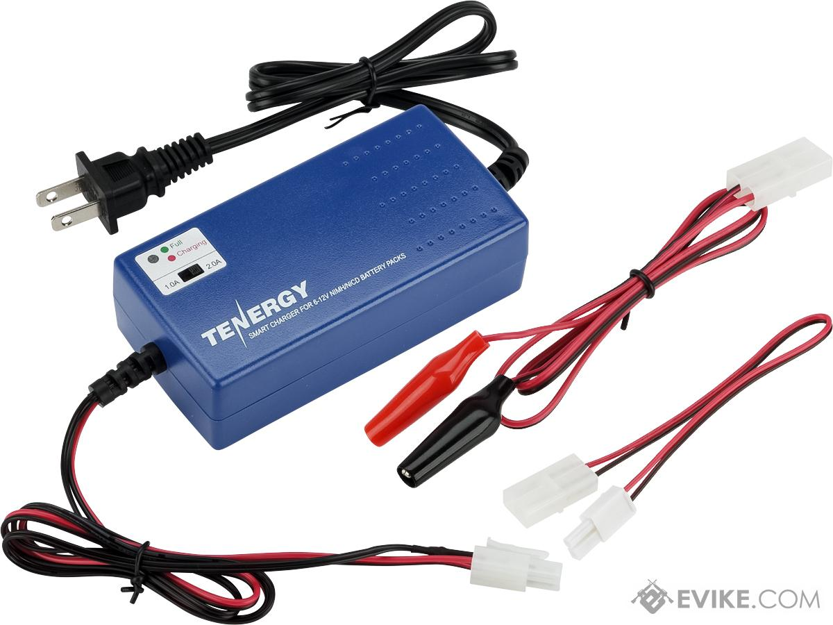 Evike.com / Tenergy Version 2 Airsoft Smart Charger for 7.2V-12V NiMh & NiCd Battery Packs by Tenergy - Advanced Type