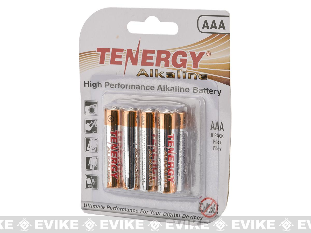 Tenergy High Performance Alkaline AAA Batteries (Package: 8 Batteries)