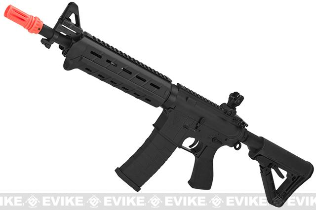 z G&G Top Tech Full Metal TR4 Mod-0 Electric Blowback Airsoft AEG Rifle - Black (Package: Gun Only)