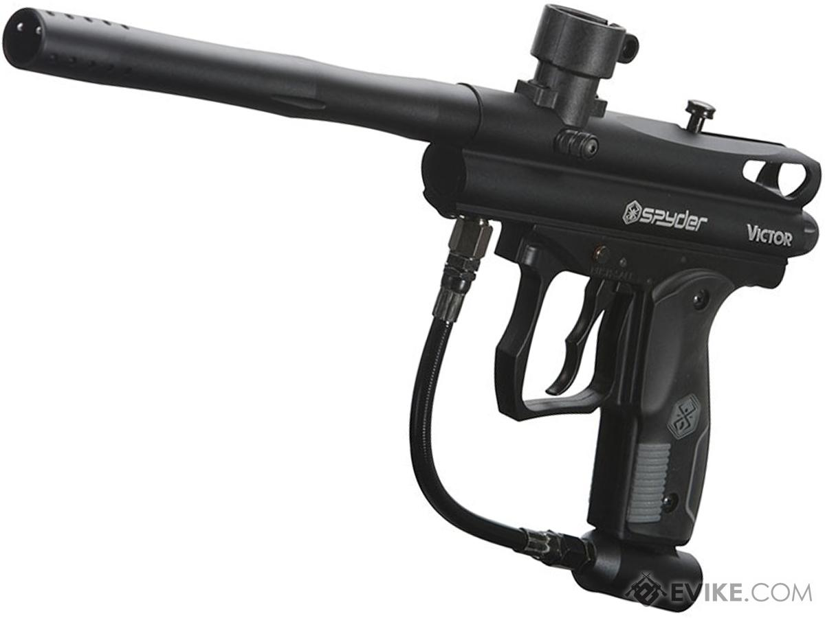 ec2442d690 Spyder Victor Semi-Auto Paintball Marker (Color  Diamond Black ...