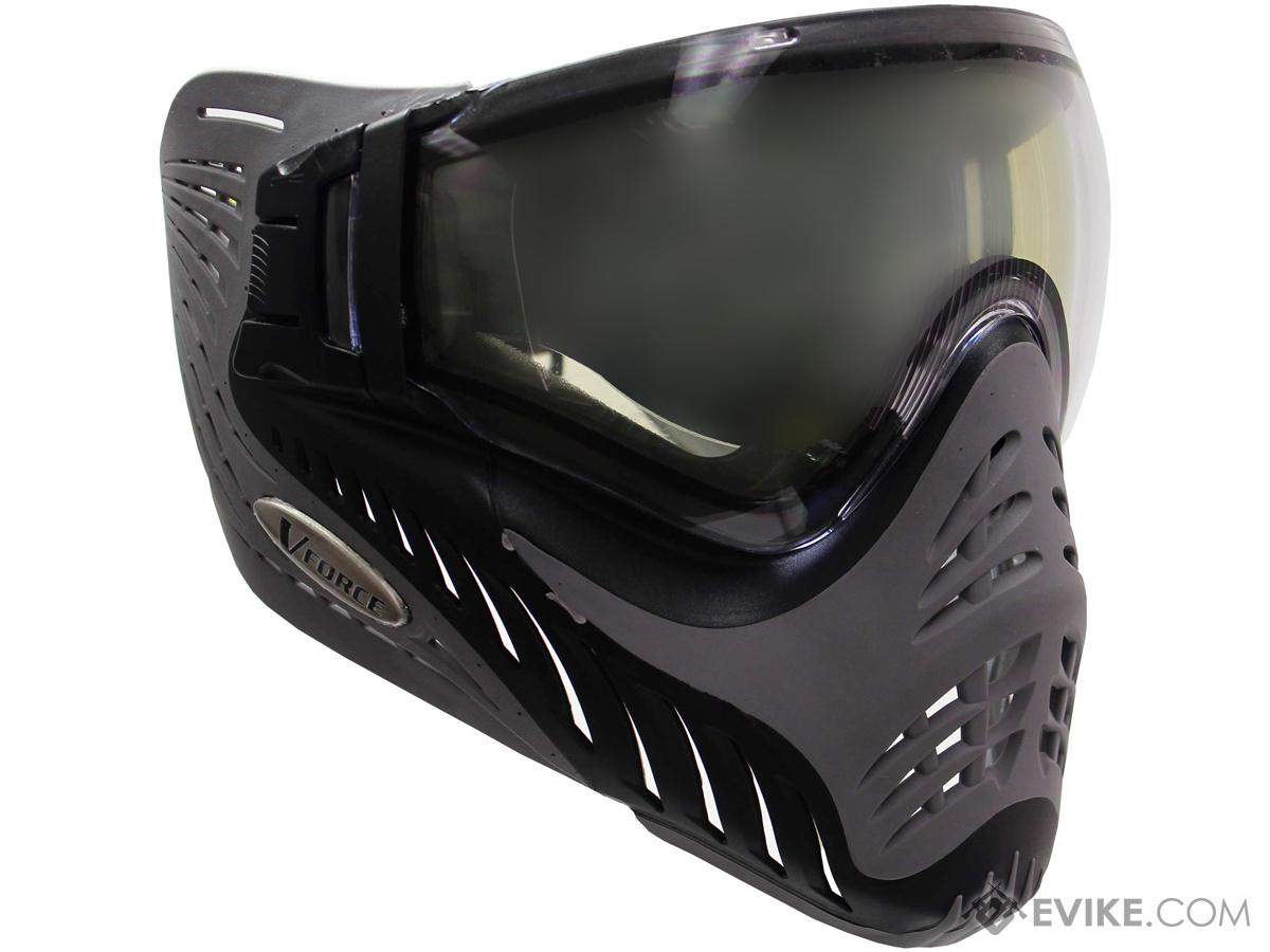 V-Force Grill Full Seal Face Mask (Color: Charcoal Shark / Clear