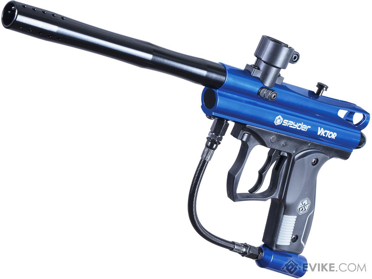 363e5580cfd88 Spyder Victor Semi-Auto Paintball Marker (Color  Gloss Blue)