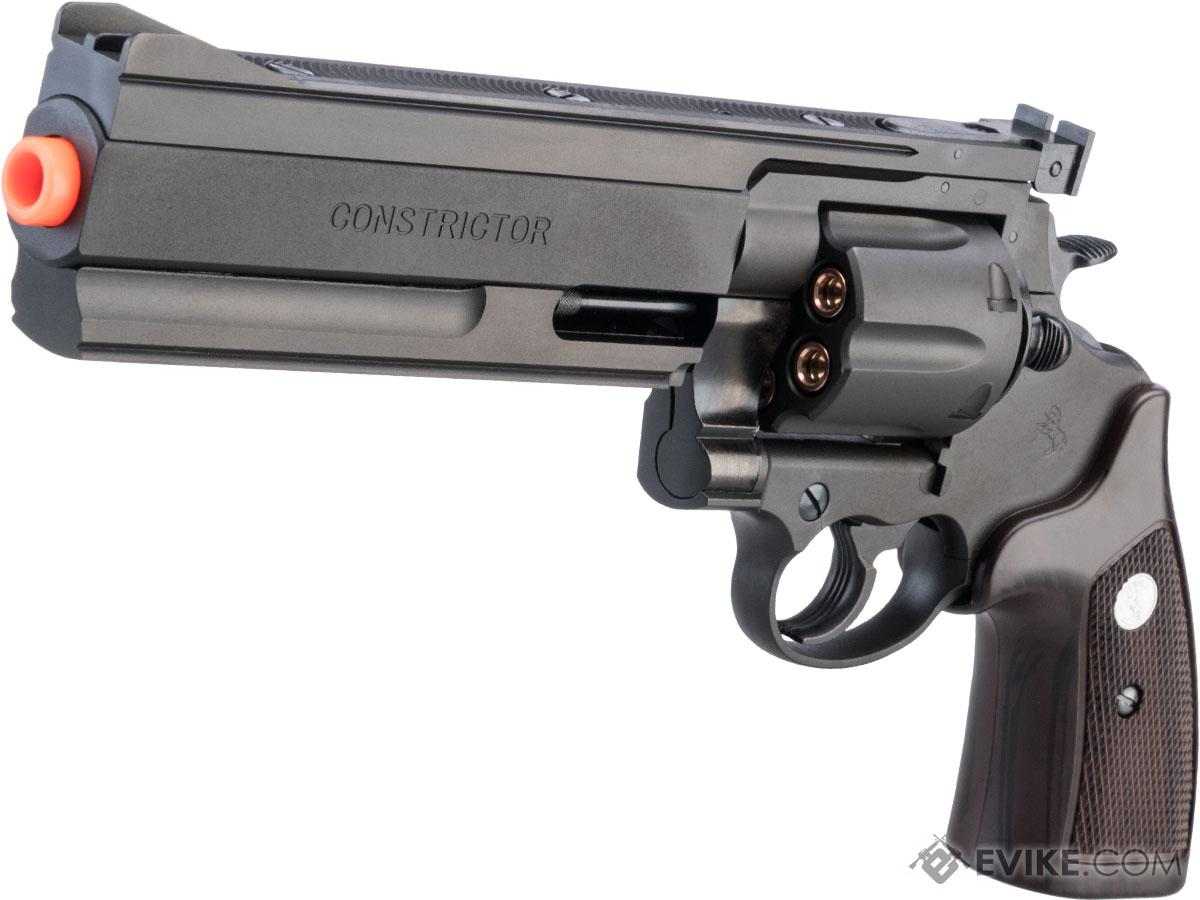 Marushin Colt Constrictor .44 Gas Powered Airsoft Revolver (Color: Matte Black)
