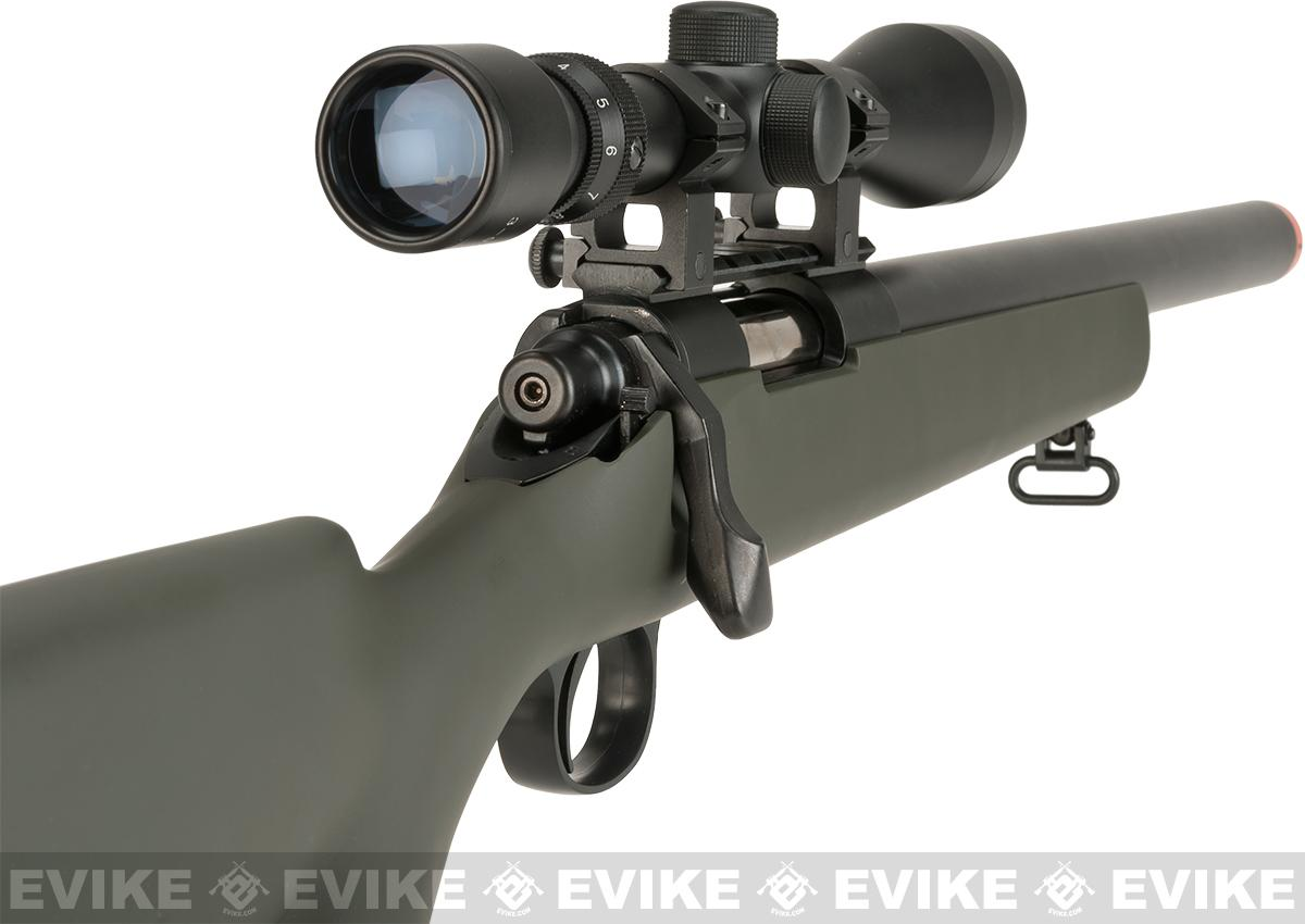 Tokyo Marui VSR-10 G-Spec Airsoft Sniper Rifle with Mock Suppressor (Color:  OD Green)