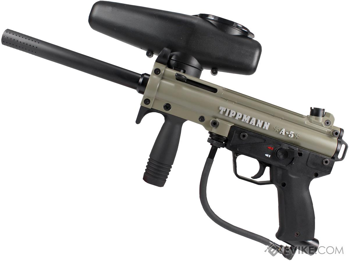 Tippmann A5 with Selector Switch Basic Paintball Marker Set
