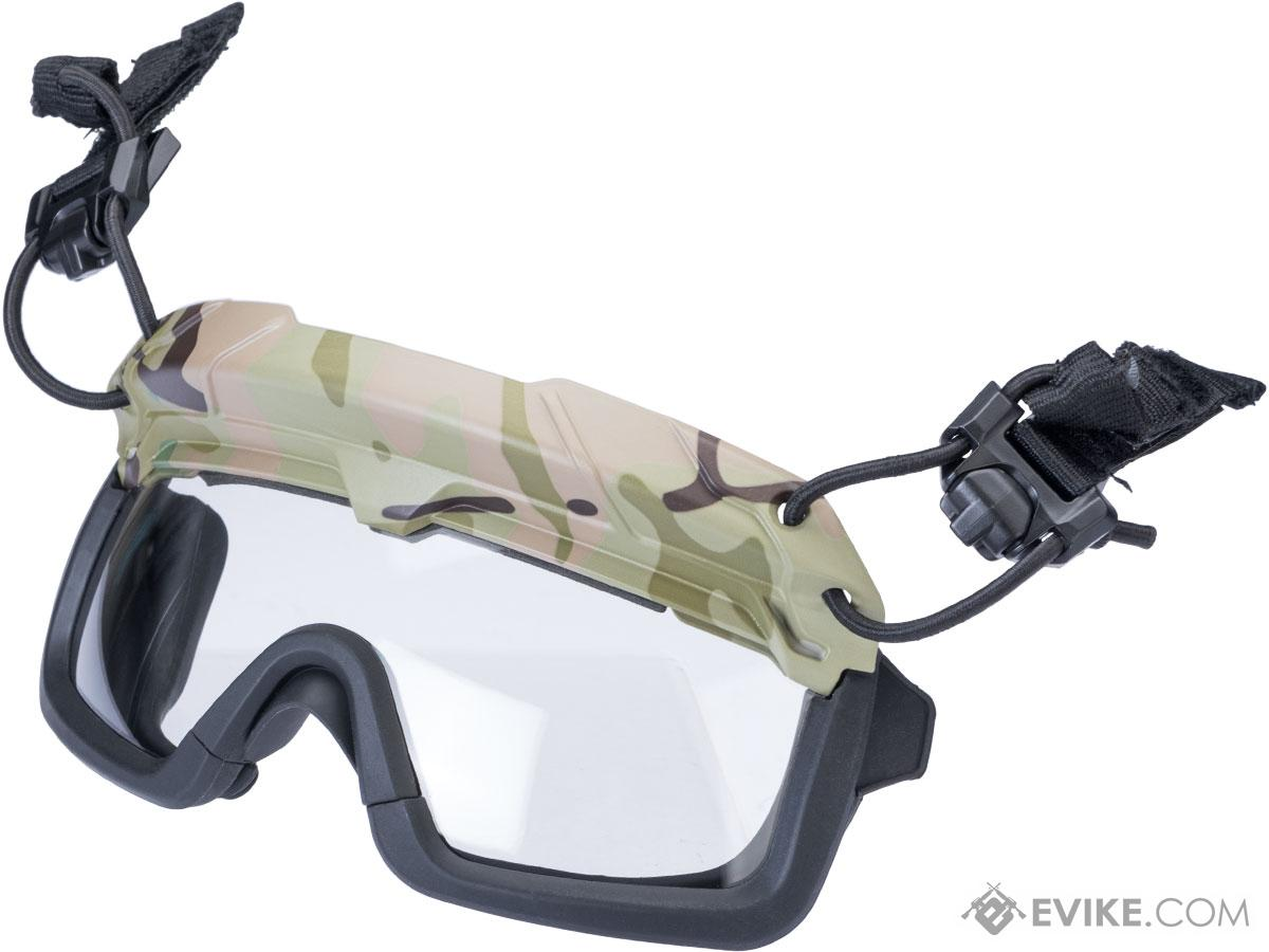 TMC Special Forces QD Full Seal Goggles for Bump Helmets (Color: Camo)