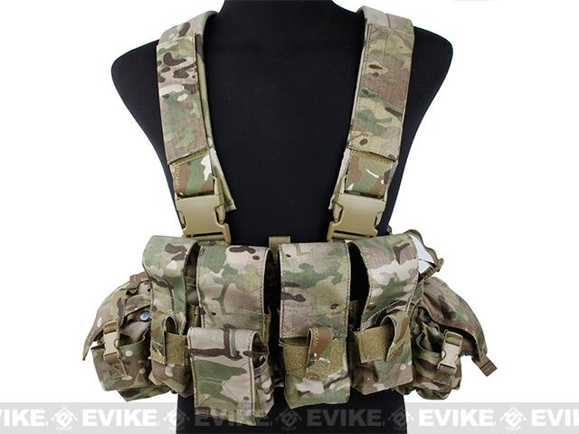 TMC 961A Tactical Assaulter Chest Rig - Multicam