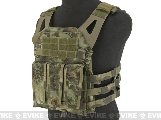 TMC Navy Jump Plate Carrier - Forest Serpent