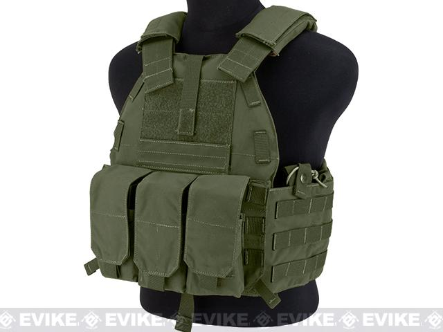 TMC 94K-M4 Plate Carrier - Ranger Green
