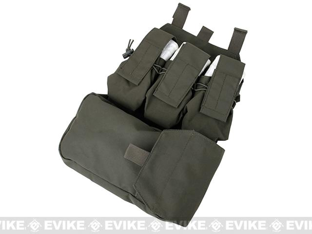 TMC MOLLE Assault Back Panel - Ranger Green
