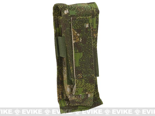 TMC Single Pistol Magazine MOLLE Pouch - Pencott Greenzone